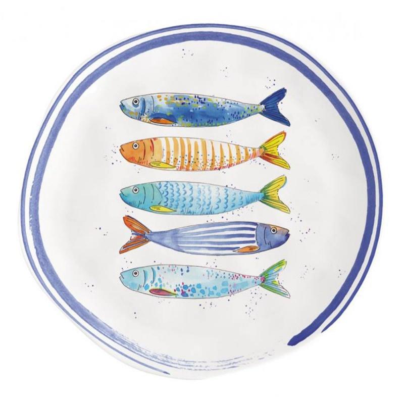 Тарелка закусочная 21 см Easy Life Морской берег
