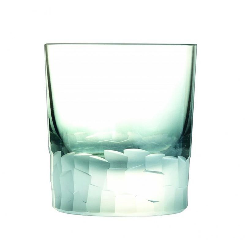 Стакан низкий 320 мл Cristal d'Arques Intuition серо-голубой