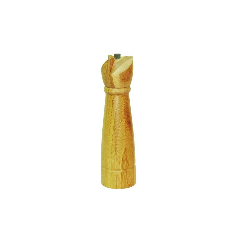 Мельница для перца 6*22 5Мельница для перца Oriental Way выполнена из натурального бамбука. Высокая влагостойкость и долговечность. Внутренний механизм изготовлен из стали.<br>