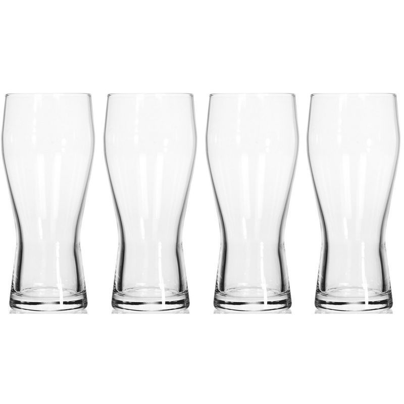 Набор стаканов для пива 4 шт 400 мл