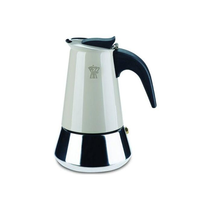 Кофеварка гейзерная STEELEXPRESS на 6 чашек сераяКофеварка гейзерная СтилЭкспресс позволит вам быстро и легко сварить крепкий и бодрящий кофе для всей компании. Большой объем резервуара делает такую кофеварку отличным выбором для офиса и для дома. Прочный металлический корпус и надежная конструкция обеспечивают долговечность и практичность эксплуатации и ухода. Гейзерная кофеварка с успехом заменит громоздкие кофемашины и сварит ароматный и насыщенный напиток, который зарядит вас бодростью и энергией для продуктивного дня. Кофеварка гейзерная СтилЭкспресс изготовлена из пищевого алюминия, который отлично сохраняет истинный вкус кофе.<br>