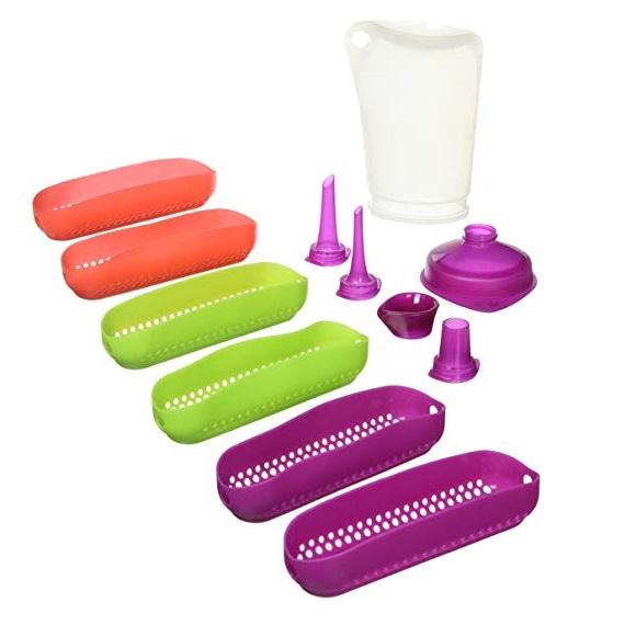 Набор силиконовых форм для эклеров 6 шт. и аксессуаров Mastrad