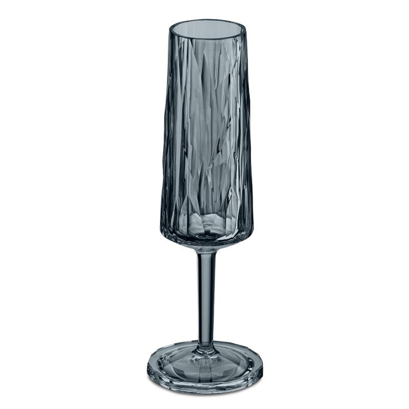 Бокал для шампанского Superglas Club 100 мл серый