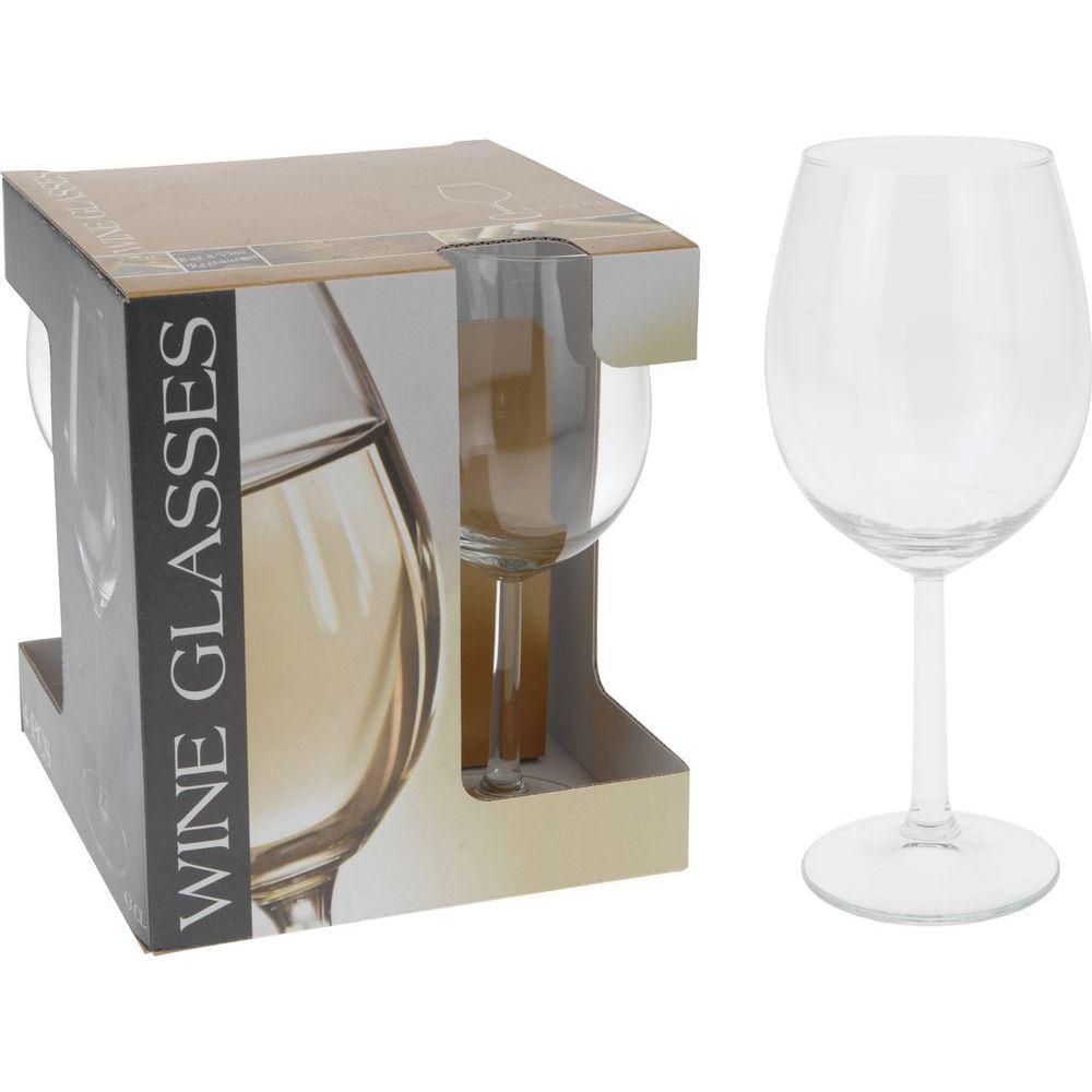 Набор бокалов д/вина 4 шт d6,5 h20 смСервировка<br>бокалы для вина, набор 4 шт, диам. 6,5 см, выс. 20 см<br>