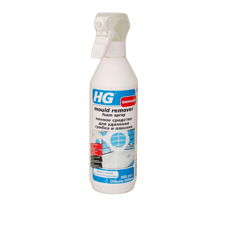 Пенное средство для удаления грибка и плесениHG пенное средство для удаления грибка и плесени мгновенно уничтожает плесень и грибок в местах повышенной влажности как внутри, так и снаружи помещений. Средство имеет уникальную формулу, обладает менее резким запахом, легче наносится на места, пораженные плесенью, и меньше разбрызгивается. Пена дольше остается на поверхности, что делает средство эффективным в течение более длительного периода времени. Средство предназначено для очистки плитки и оштукатуренных стен, подходит для мрамора и другого натурального камня, а также для межплиточных швов в ванной комнате, душе, туалете, на кухне, в подвальных помещениях, сауне, бассейне, гараже и подсобных помещениях. Может использоваться для очистки фасадов,балконов, цветочных горшков, садовых скульптур и т.д.<br>