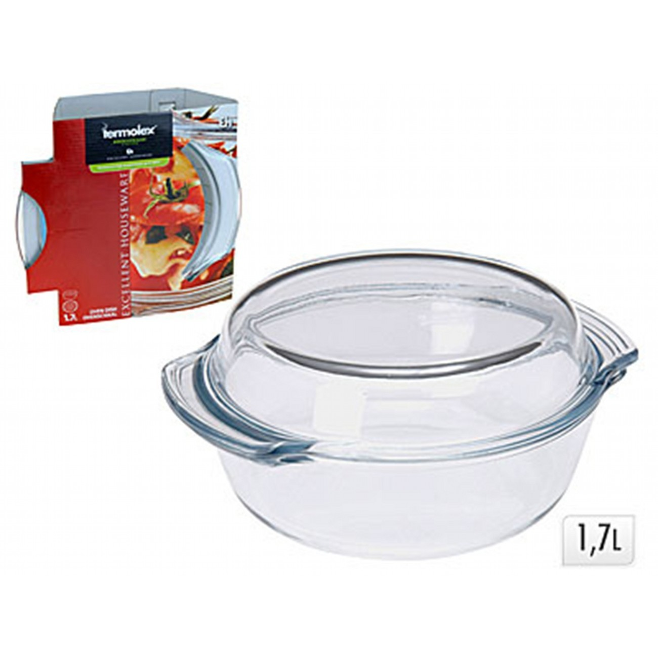Кастрюля для запекания с крышкойExcellent Houseware производит посуду и различные предметы для дома. Форма для запекания - необходимый аксессуар современной хозяйки. С ней можно приготовить вкусное блюдо в духовке.<br>