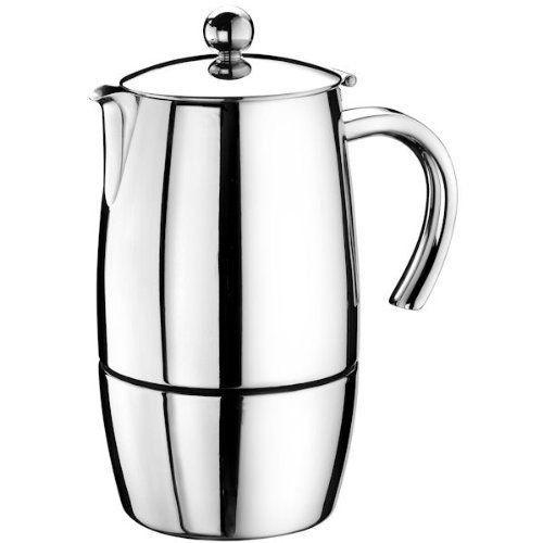 Кофеварка гейзерная на 10/5 чашек MAGNAКофеварка MAGNA от Pintinox поможет вам приготовить незабываемый кофе. Вы, все ваши домочадцы и гости останутся довольны вкусом кофе.<br>