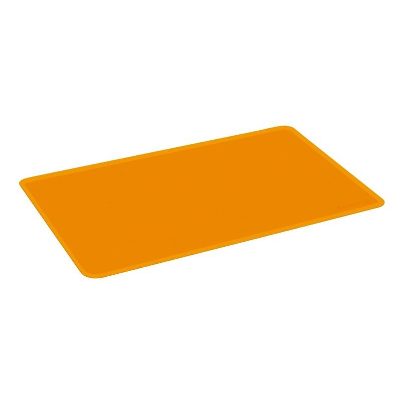 Коврик кулинарный силиконовый 50*35 оранжевыйКомпания Oursson - это производитель кухонной посуды и аксессуаров. Качественные, стильные, эргономичные предметы быта данной марки представлены на мировом рынке. Коврик кулинарный - один из представителей марки Oursson, который подарит вам комфорт при использовании.<br>