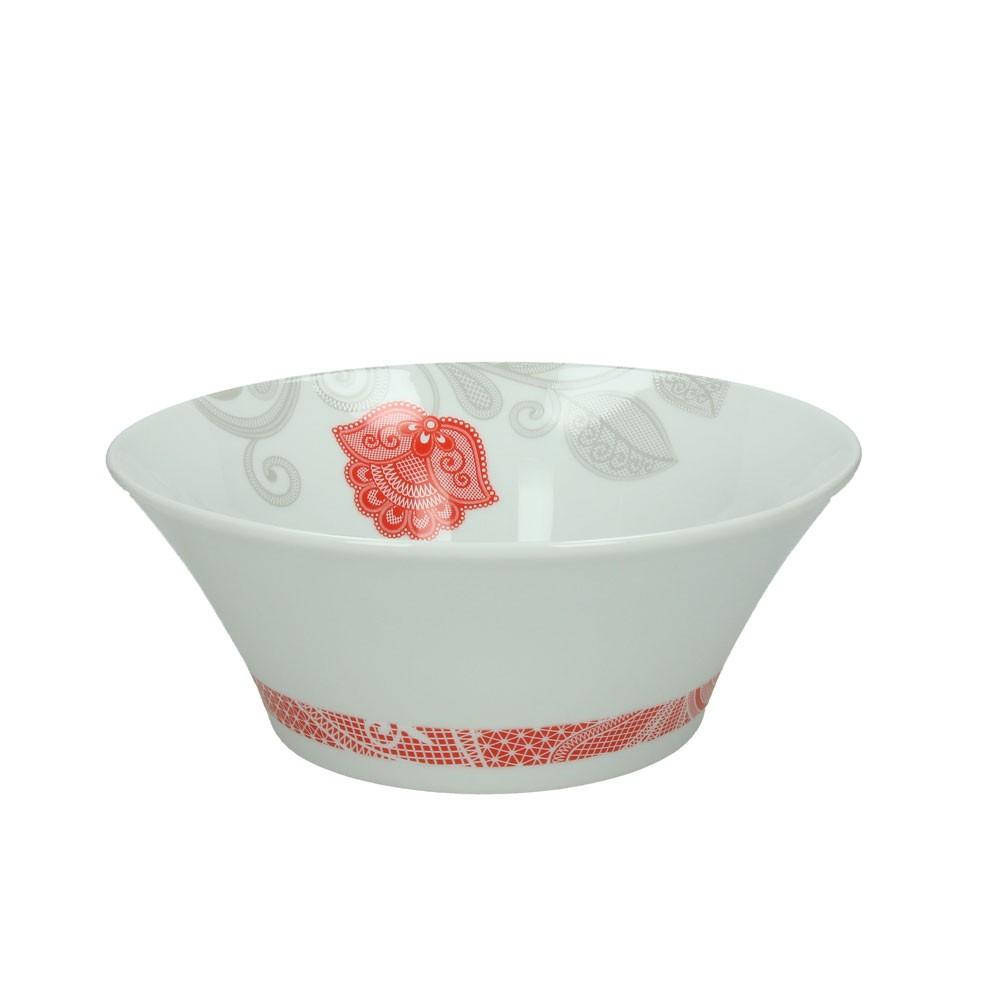 Салатник ARENA RED CORATognana производит красивую и качественную посуду и аксессуары для дома и дачи, создает каждый предмет продуманно и с особой любовью. Данный салатник стильный, эргономичный, прекрасно выполняет свою функцию и украшает стол.<br>
