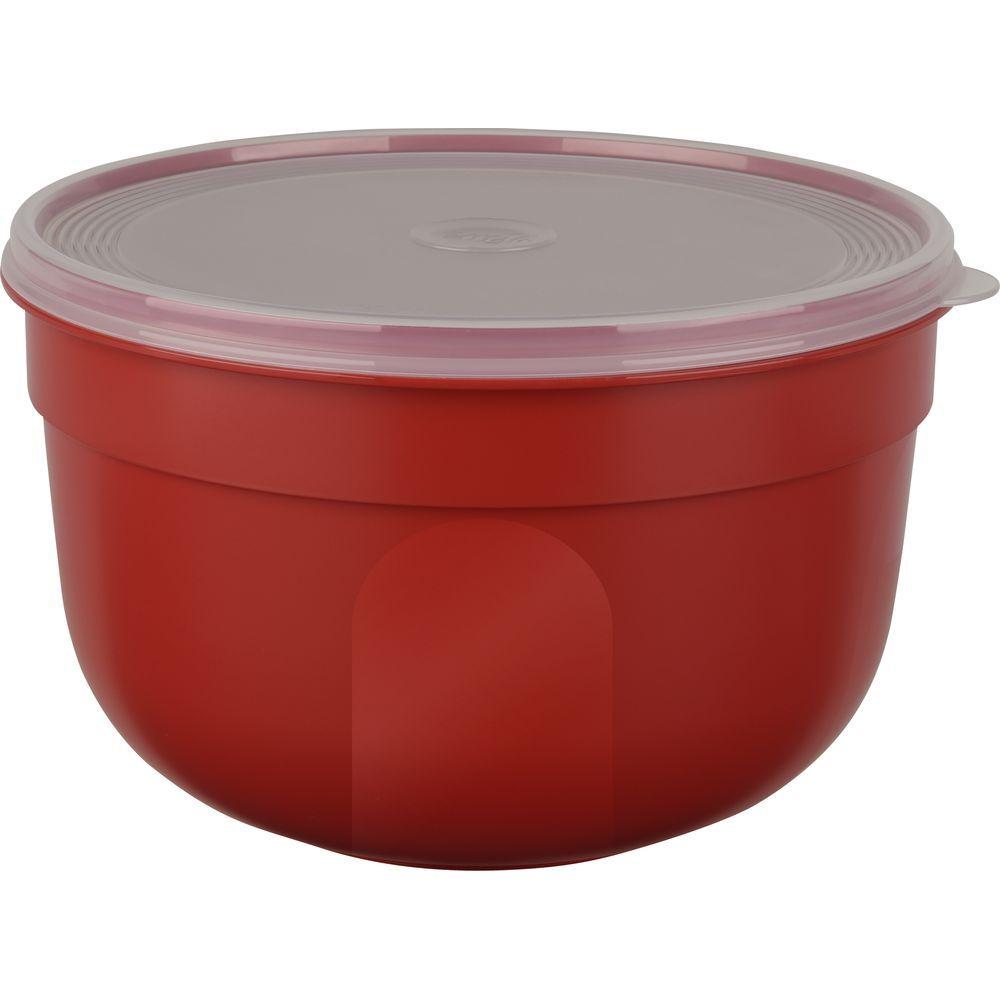 Контейнер SUPERLINE круглый 1,25 л красныйКонтейнер SUPERLINE круглый 1,25 л красный<br>