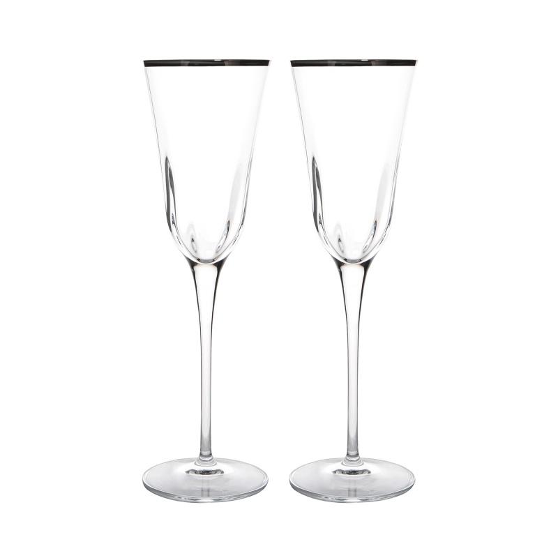 Набор бокалов для шампанского 2 шт. 240 мл Le Stelle Irene