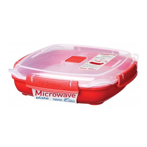 Контейнер низкий Sistema Microwave