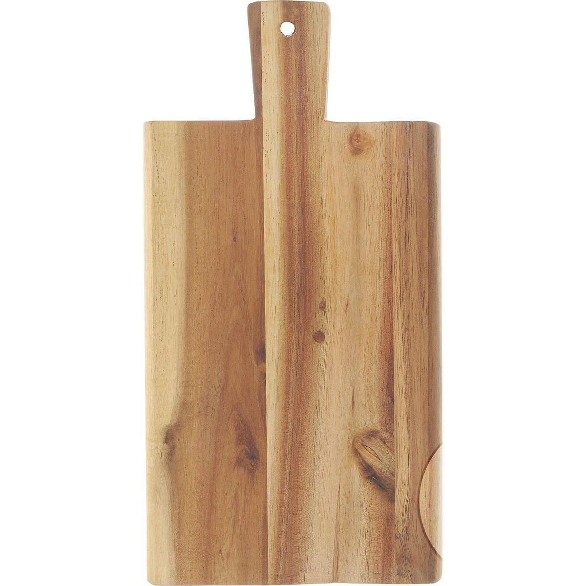 Доска разделочная  29х14х1,5   2019-0Доска изготовлена их бамбука с отверстием для подвешивания на крючок.Бамбук-инновационный материя,идеально подходит для изготовления досок..Доски из бамбука обладают высокой плотностью структуры древесины, а также устойчивы к механическим воздействиям.<br>