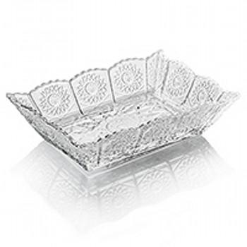 Салатник прямоугольный Stella, 6шт.Салатник фирмы Diva создан из хрустального стекла с нарезкой 500 РК. Благодаря качественному материалу и оргинальному дизайну, салатник отлично впишется в вашу домашнюю коллекцию праздничной посуды для сервировки.<br>