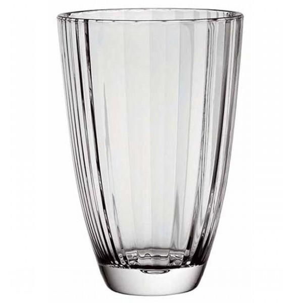 Ваза DIVAОригинальная ваза итальянского  производителя Vidivi сделана из высококачественного стекла. Необычный дизайн и форма украсят любой интерьер. Она станет отличным подарком.<br>