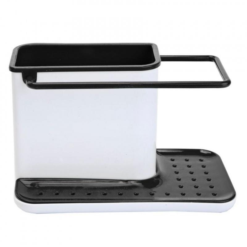 Органайзер для раковины вертикальный Bradex черный
