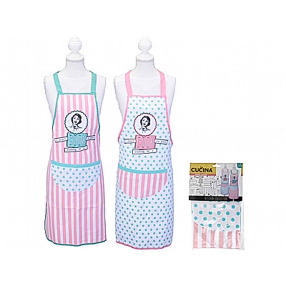 Фартук кухонныйExcellent Houseware производит посуду и различные предметы для кухни и дома. Фартук - это замечательный помощник, поскольку он защищает одежду от загрязнений. Внимание! Выбрать цвет заранее не представляется возможным.<br>