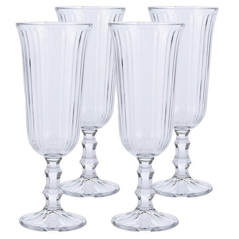 Набор бокалов для шампанского 4 шт 120 мл Excellent Houseware