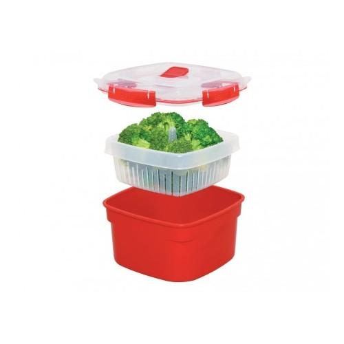 КонтейнерSistema Plastics существует более 30 лет, производит качественную, эргономичную и безопасную посуду для ежедневного использования. Контейнер найдет свое место на каждой кухне.<br>