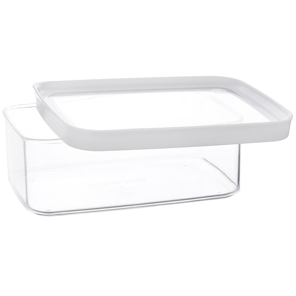 Банка с крышкой для хранения 2,0л OPTIMAКонтейнер предназначен для сыпучих продуктов. Его можно использовать на кухне для хранения, что позволит организовать ваше кухонное пространство.<br>