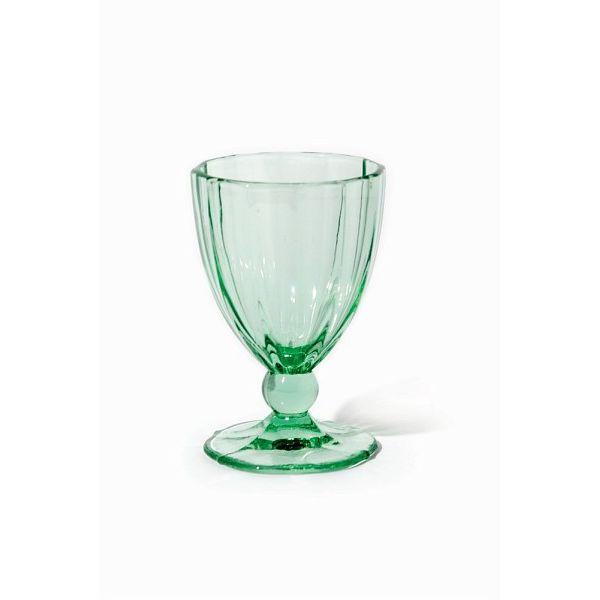 Бокал для воды ANAIS 420 мл зеленыйСозданный итальянскими дизайнерами интересный бокал для воды из стекла станет прекрасным дополнением вкусного коктейля. Форма бокала разработана специально для того, чтобы бокал было удобно держать в руке и наслаждатся с него различными прохладительными напитками.<br>