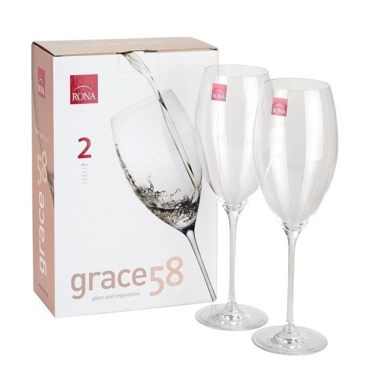 Набор бокалов для шампанского Rona Grace 2 штуки 280 мл