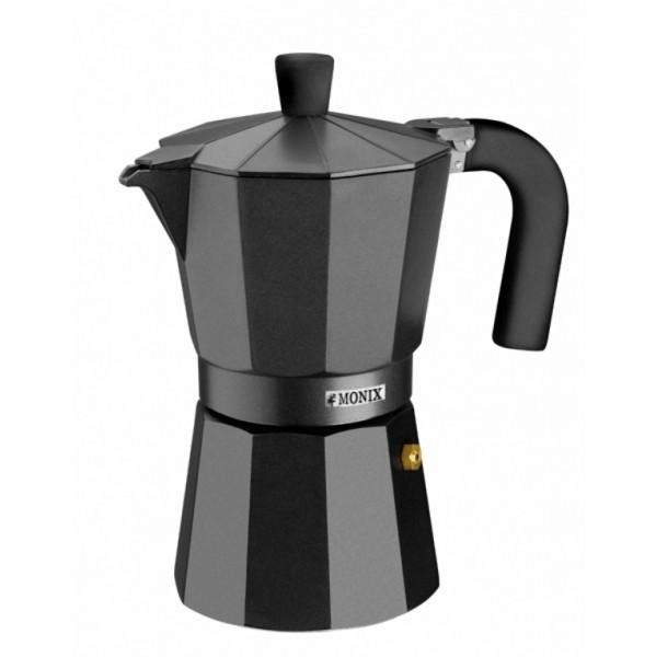 Кофеварка гейзерная на 12 чашек VITRO MONIXPintinox производит качественные и стильные столовые приборы и посуду. Все предметы созданы с любовью, поэтому пользоваться ими и приятно, и удобно. Гейзерная кофеварка откроет для вас настоящий вкус кофе.<br>