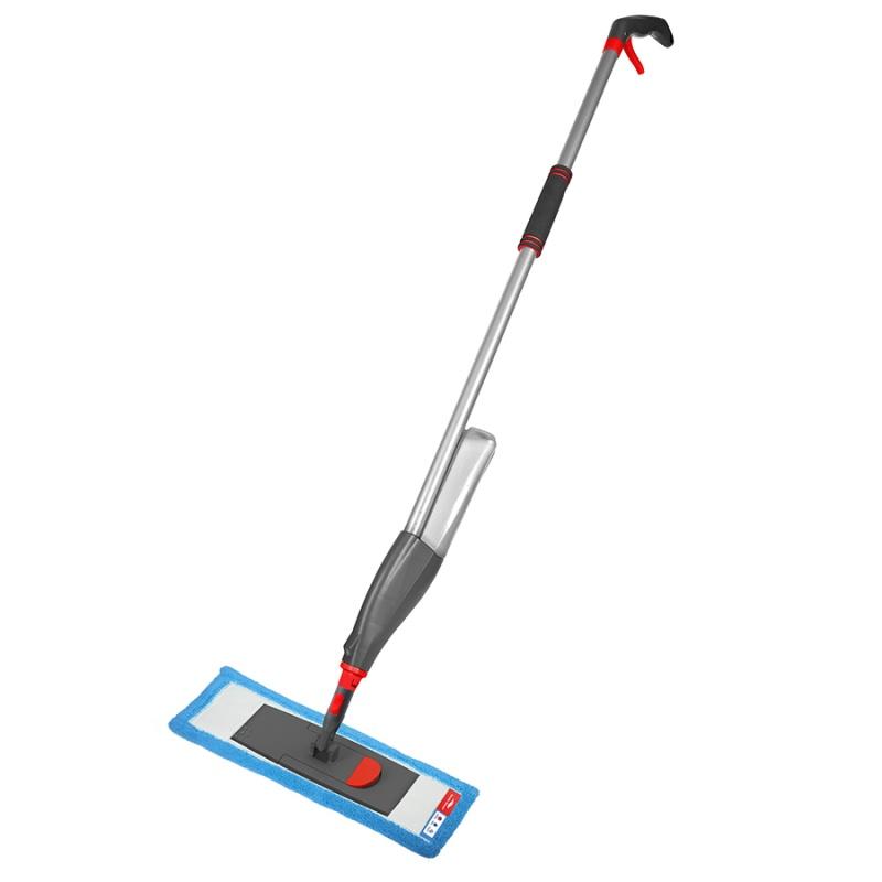 Швабра для мытья пола с распылителем, телескопической ручкой 130 см и насадкой Nordic Stream