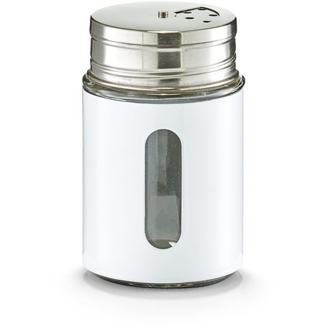 Емкость для специй d7 h11,5 см., белая 19794 белыйСоздавая кухонные аксессуары, Zeller пропитывает их гармонией и любовью. Емкость для специй - аксессуар, который пригодится на каждой кухне. Эта емкость позволят хранить в ней специи, а также удобно ими пользоваться, посыпая ими блюдо равномерно и в нужном объеме.<br>