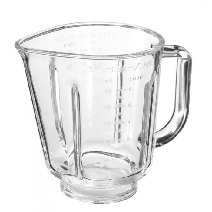 Блендер полупрофессиональный  со стеклянным стаканом объемом 1,5 л., 6 скоростей  и функция PULSE.Качественные инструменты для приготовления еды - must have на любой кухне. Именно по этому компания Kitchen Aid создала эти принадлежности. Высококачественная нержавеющая сталь делает их долговечными помощниками для каждой хозяйки.<br>