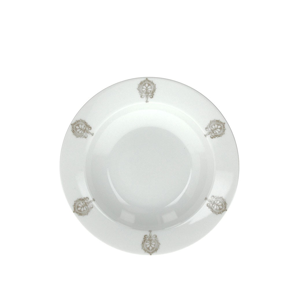 Тарелка суповая OLIMPIA VINTAGETognana производит красивую и качественную посуду и аксессуары для дома и дачи, создает каждый предмет продуманно и с особой любовью. Данная тарелка стильная, эргономичная, прекрасно выполняет свою функцию и украшает стол.<br>