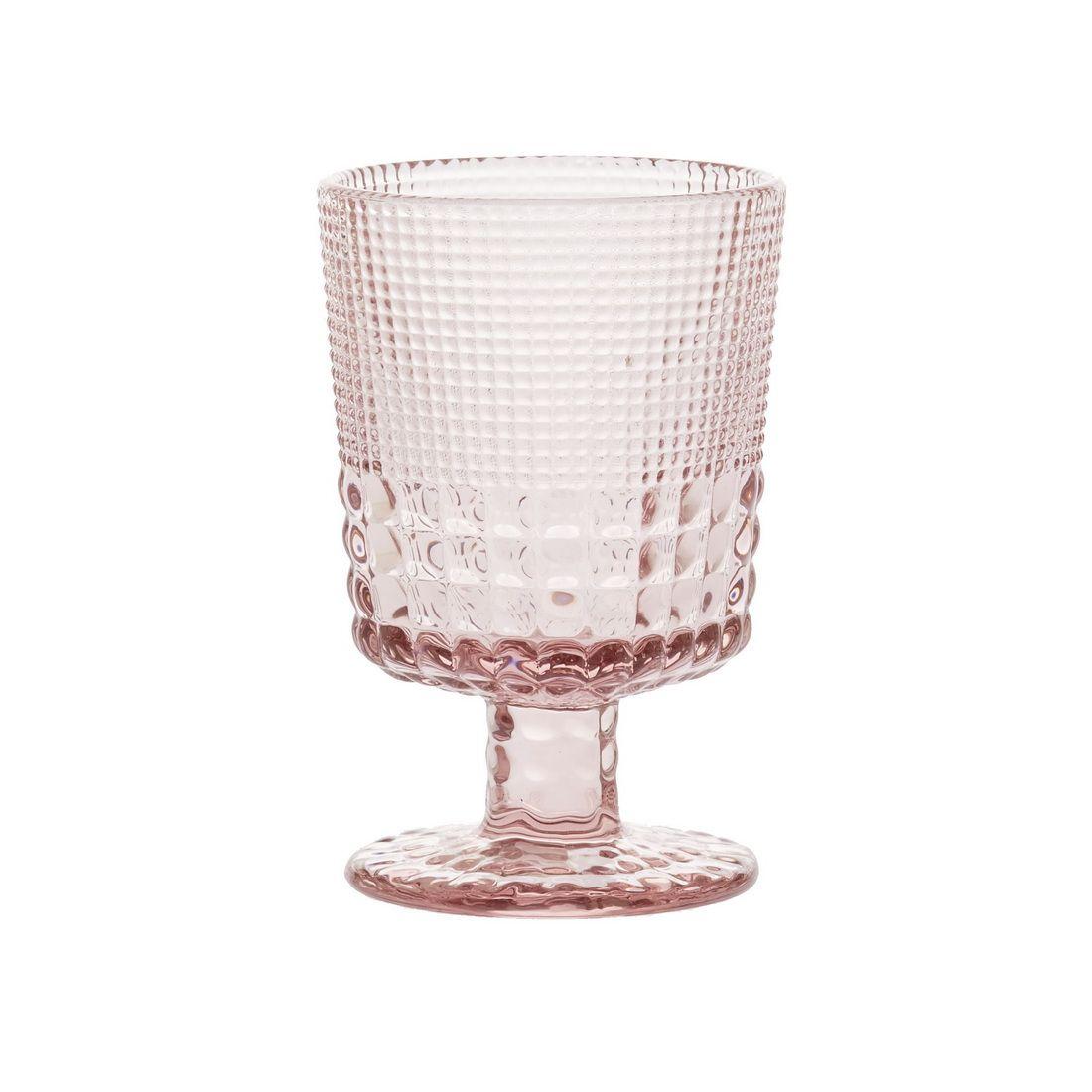 Бокал для белого вина Royal drops, розовыйБокал для белого вина Royal drops, от Magia Gusto, придется по вкусу истинному ценителю.<br>