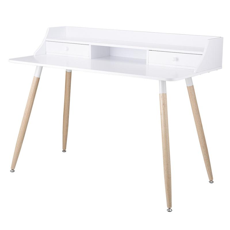 Стол офисный Pallotta 120х60х92 см белый