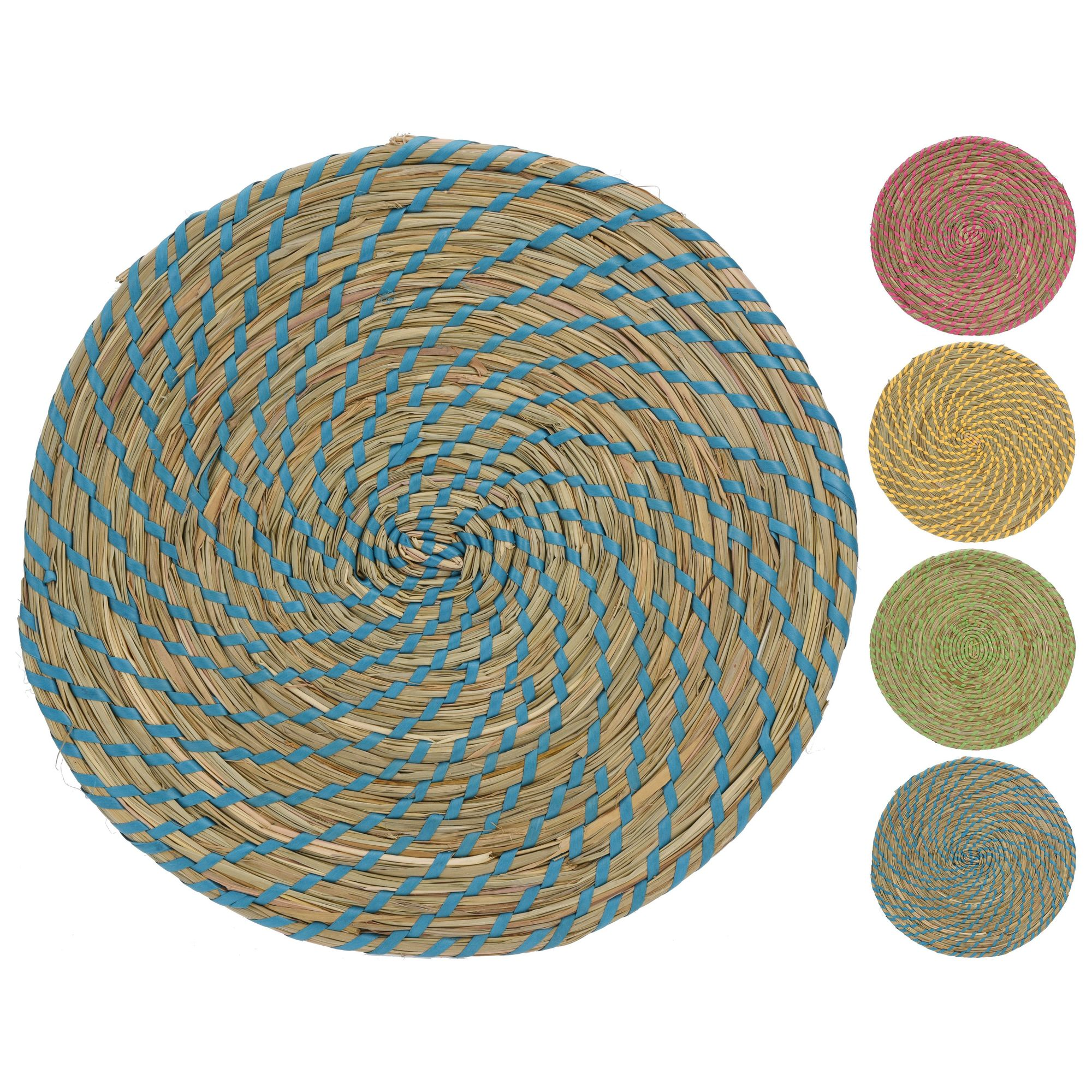 Салфетка сервировочная в ассортиментеСалфетка сервировочная – удобный и полезный кухонный аксессуар. Выполненная в форме круга и сплетенная в технике колосок из натурального материала, она ограничивает контакт горячей посуды с поверхностью стола, что предотвращает появление царапин и темных пятен. Природная текстура и живая палитра песочных оттенков гармонично впишется в сервировку кухни в стиле эко. Особенно эффектно на ней будет смотреться керамическая посуда натуральных оттенков или белого цвета. Материал салфетки обладает высокой прочностью и длительным сроком эксплуатации. Изделие легко чистится после применения. Салфетка станет украшением стола.<br>