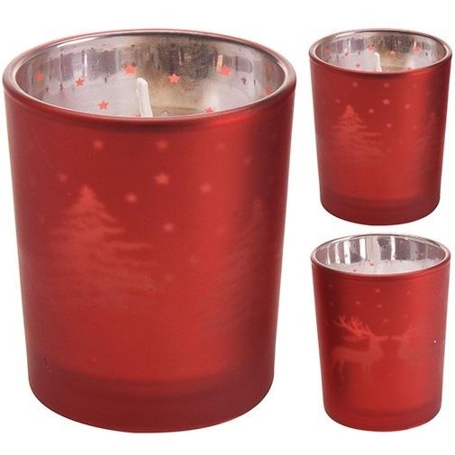 Свеча в стакане новогодняя Excellent Houseware