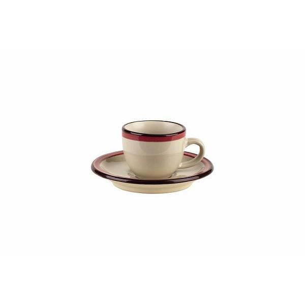 Чашка с блюдцем кофейная FOGOLAR SUMMERTognana производит красивую и качественную посуду и аксессуары для дома и дачи, создает каждый предмет продуманно и с особой любовью. Данный комплект чашки с блюдцем стильный, эргономичный, прекрасно выполняет свою функцию и украшает стол.<br>