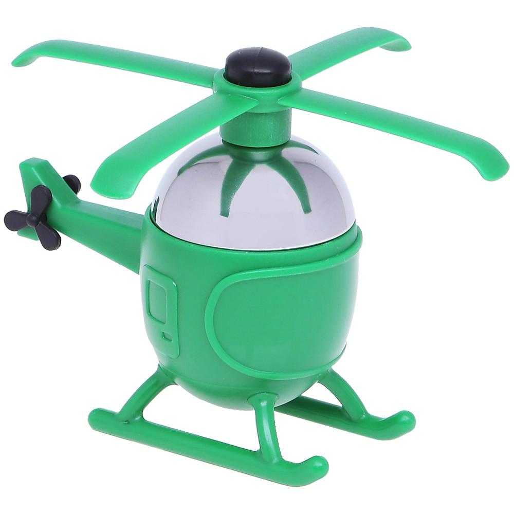 Ситечко д/чая вертолетКогда хочется насладиться ароматным крупнолистовым чаем мы не всегда находим нужных приспособлений на кухне, чтобы правильно заварить себе бодрящий напиток. Ситечко для заварки от известного магазина подарков LeFutur - это очень стильный и, действительно, нужный аксессуар. Он выполнен из высококачественной нержавеющей стали и имеет интересную форму вертолета яркого зеленого цвета.<br>