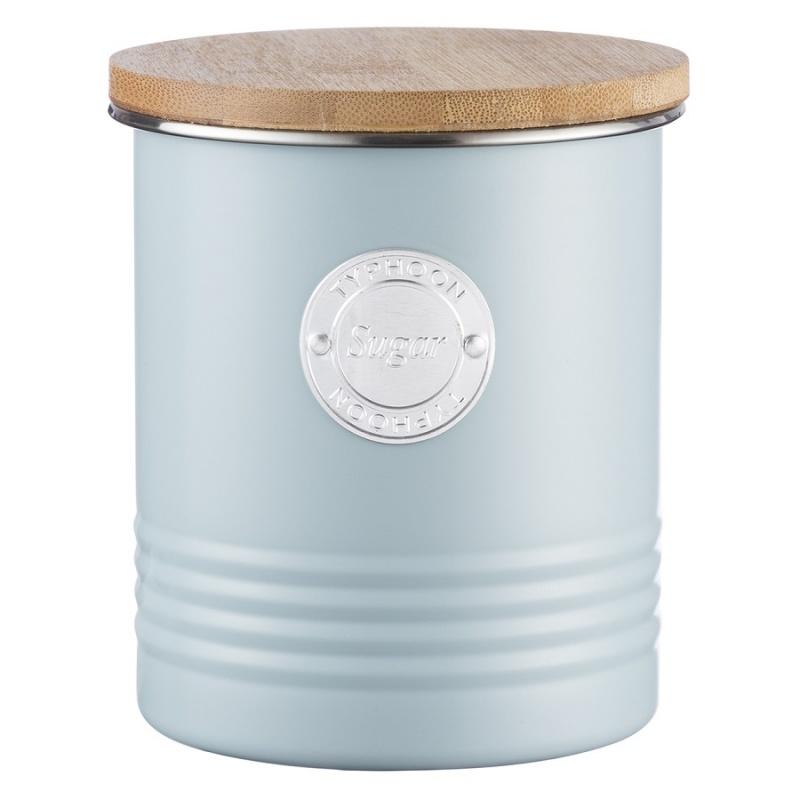 Емкость для хранения сахара 1л Typhoon Living голубая фото