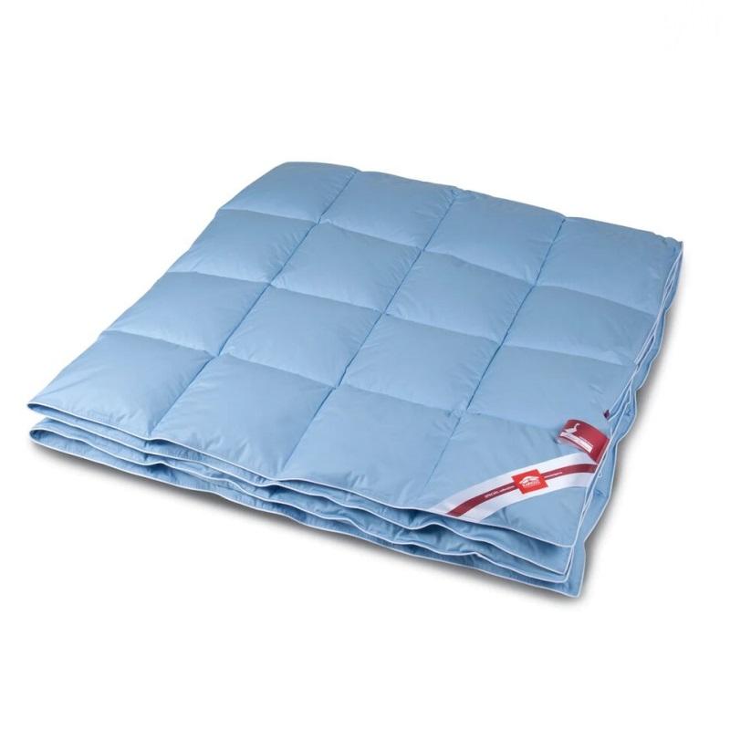 Одеяло пуховое 205 x 140 см Kariguz лазурный