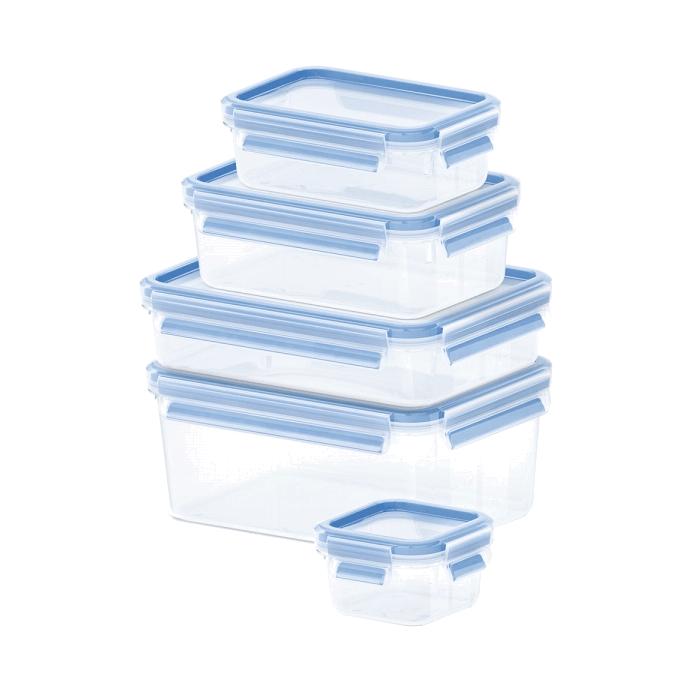 Набор контейнеров 5 шт. CLIP&amp;CLOSEНабор контейнеров CLIP&amp;CLOSE из 5 предметов<br>