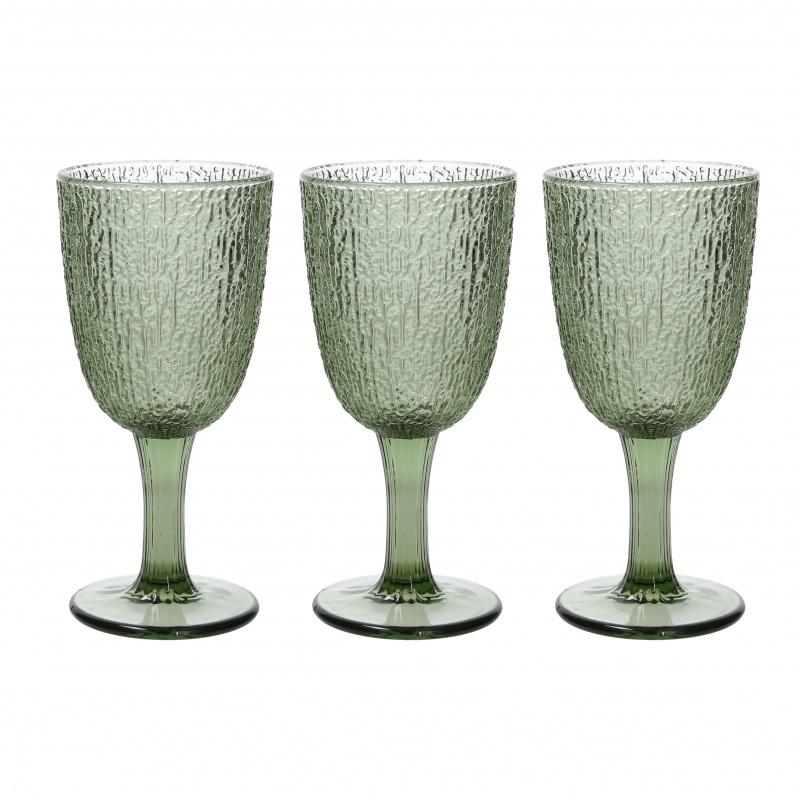 Набор бокалов для вина 250 мл Tognana Davor зелёный