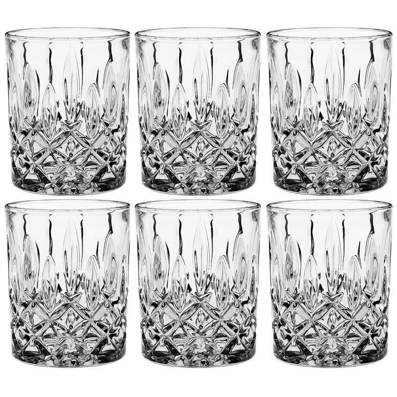 Набор стаканов для виски 6 шт. 270 мл Crystal Bohemia