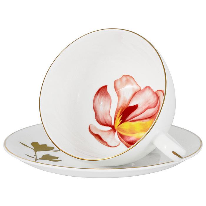 Пара чайная 250 мл Magnolia Anna Lafarg Emily Flowers