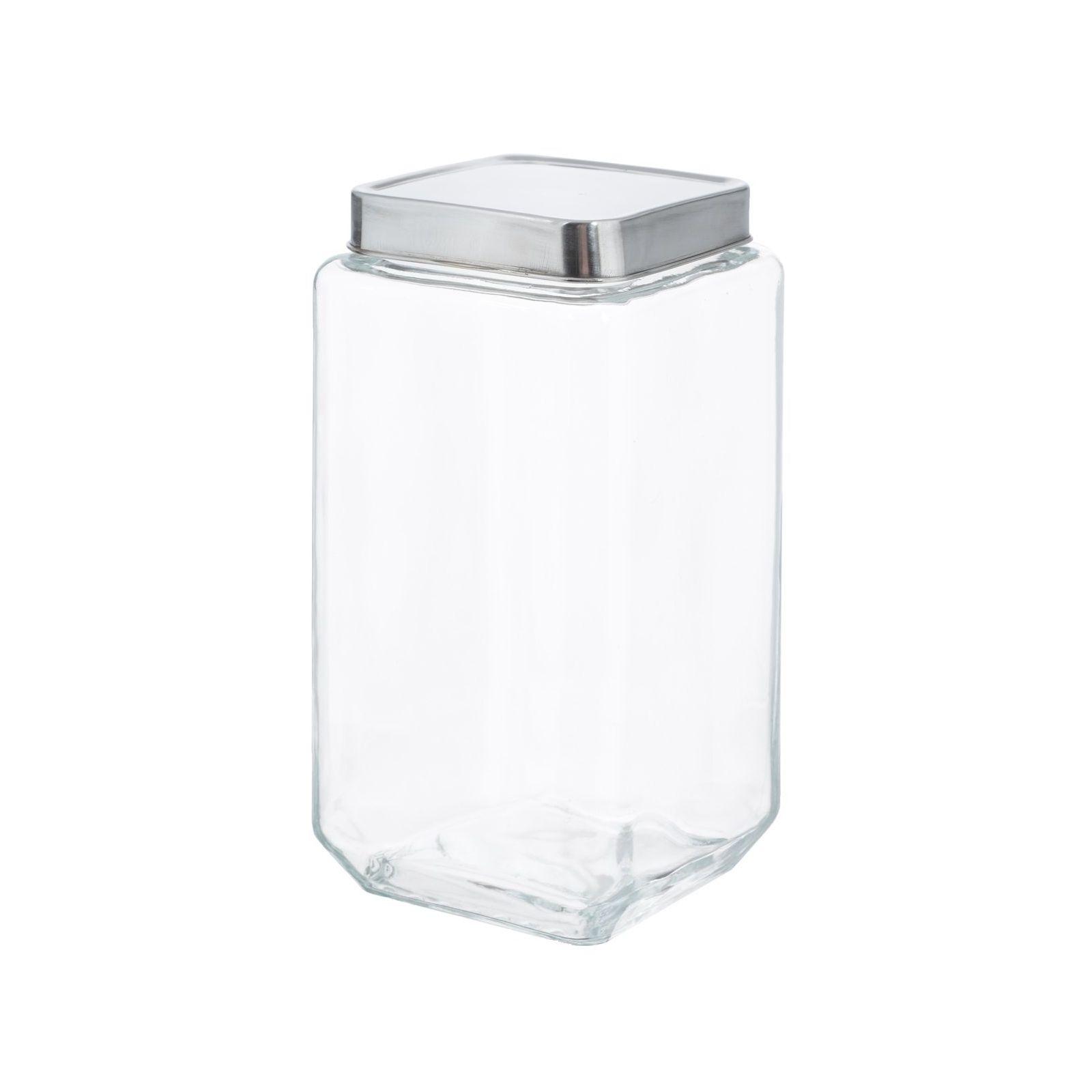 Банка квадратная 11х11х22,5 mет.крышка стеклоБанка квадратная станет не только полезным и практичным предметом, необходимым на каждой кухне, но и позволит дополнить интерьер оригинальным штрихом. Представленная модель изготавливается из прочного стекла, которое надежно защищено от случайных механических повреждений, царапин и сколов. Металлическая крышка плотно закрывается, что делает использование безопасным, если в доме есть дети. Благодаря особенностям конструкции представленное изделие отлично подходит для хранения сыпучих продуктов.<br>
