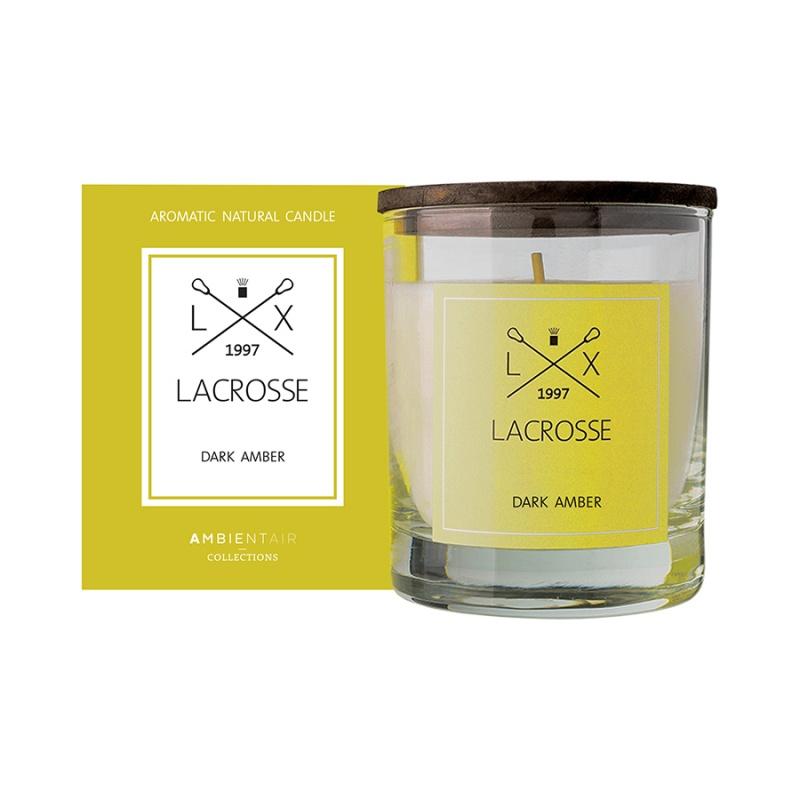 Свеча ароматическая в стекле Lacrosse Амбра