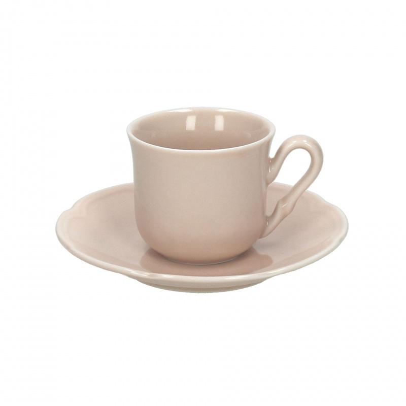Чашка с блюдцем чайная 200 мл FAVOLA  BEIGEЧашка с блюдцем сделана из высококачественного фарфора. Благодаря ее оригинальному дизайну, она станет отличным подарком на любой праздник вашим друзья или близким. Коллекционеры посуды и настоящие ценители по достоинству оценят этот набор. Набор рассчитан на 6 персон.<br>