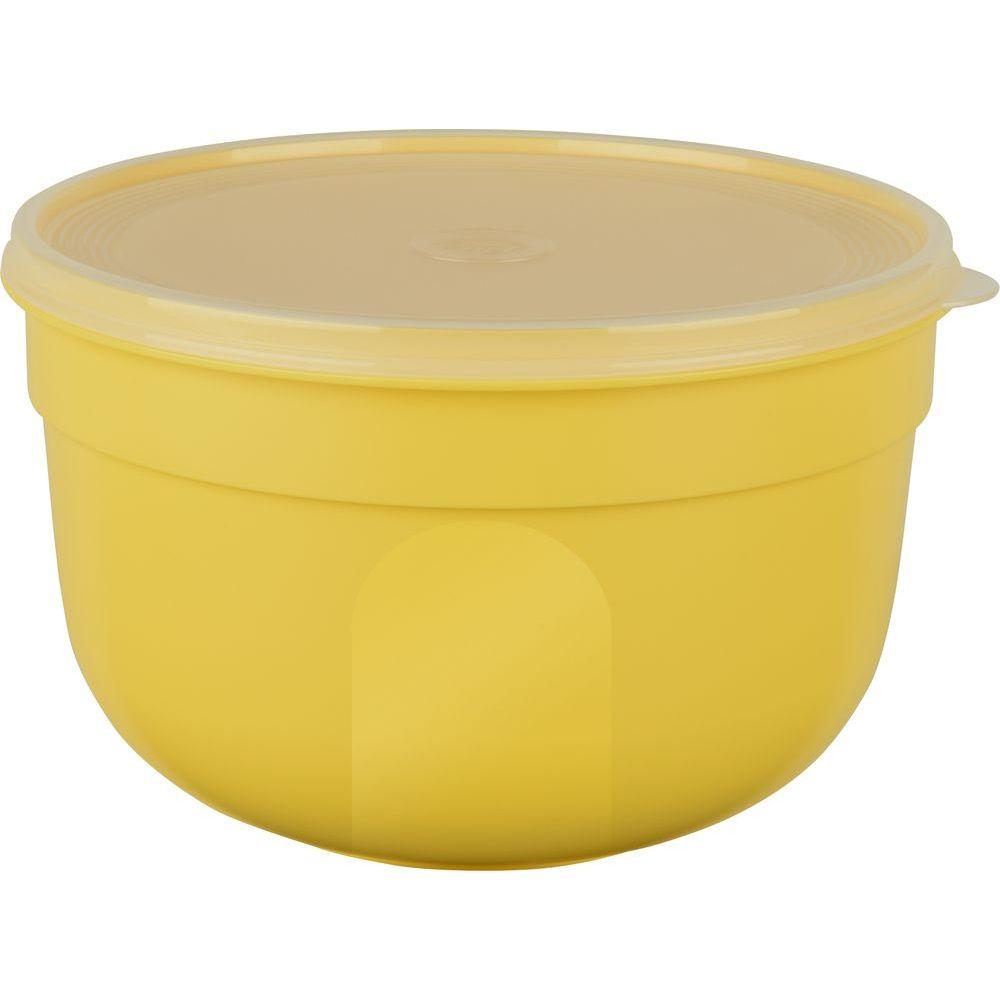 Контейнер круглый 1,25 л. SUPERLINEКонтейнер SUPERLINE круглый 1,25 л желтый<br>