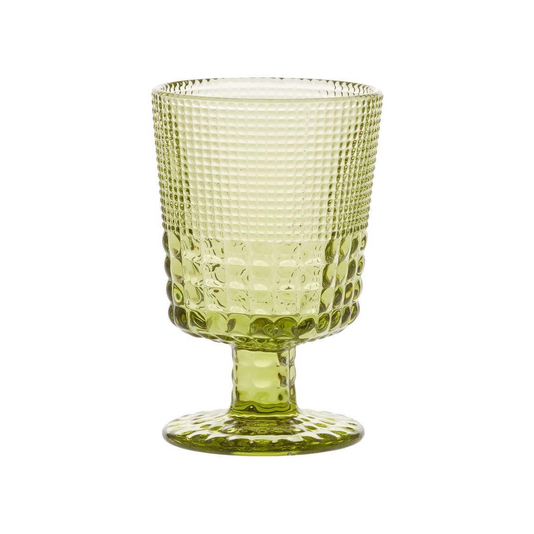 Бокал для белого вина Royal dropsБокал Ройял дропс изготовлен из высококачественного стекла красивого оливкового цвета. Он предназначен в первую очередь для белого вина, но не менее удобен для питья любых напитков как за праздничным столом, так и за ежедневной трапезой. Стекло — не просто красивый и долговечный, но также гигиеничный материал, который легко отмывается. Эта емкость отличается эстетичным дизайном, она способна украсить сервировку стола, а также станет очевидным признаком гостеприимства и хороших манер хозяев дома.<br>