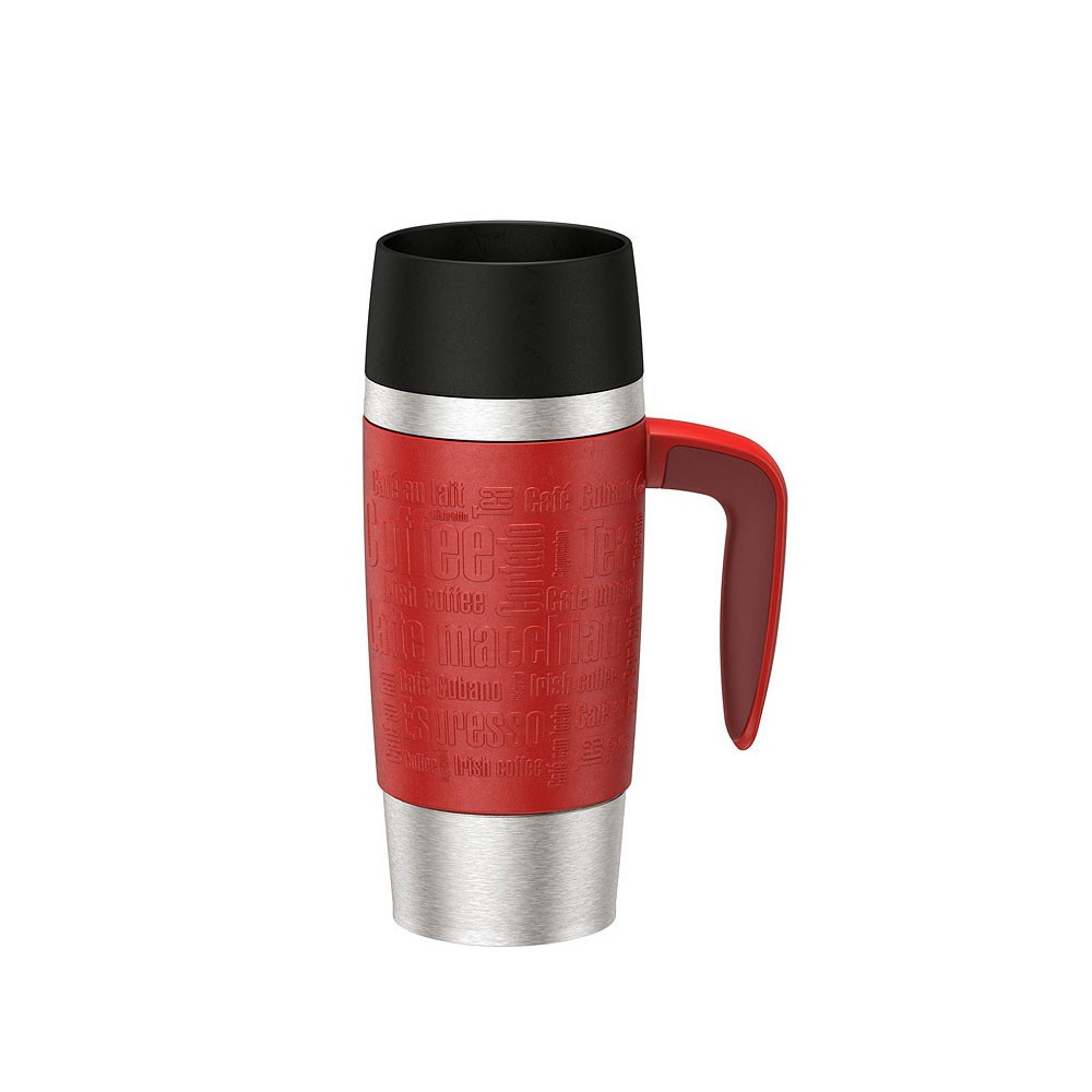 Термокружка TRAVEL MUG HANDLE с ручкой 0 36 лТермокружка изготовлена из высококачественной стали. Она отлично держит температуру вашего напитка в течение длительного времени. Вы сможете взять свой напиток с собой в дорогу и пить его где бы вы не находились.<br>