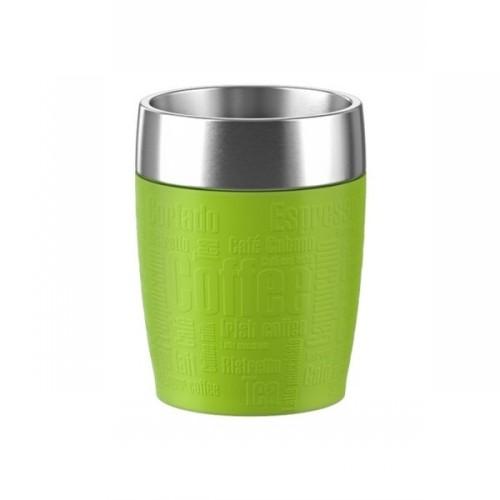Термостакан TRAVEL CUP 0 2 лТермостакан изготовлен из высококачественной нержавеющей стали. Он отлично держит температуру вашего напитка в течение длительного времени. Вы сможете взять свой напиток с собой на работу или просто в дорогу и выпить его где бы вы не находились. Термостакан герметичен и на 100% экологически безопасен.<br>